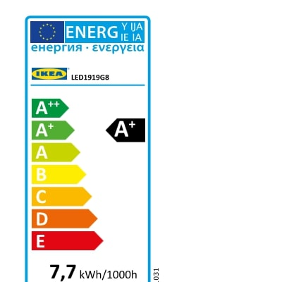 Energy Label Of: 10438722