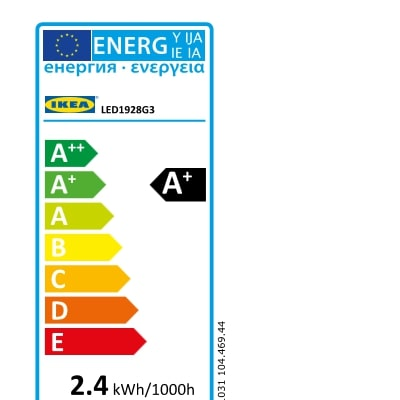 Energy Label Of: 10456886