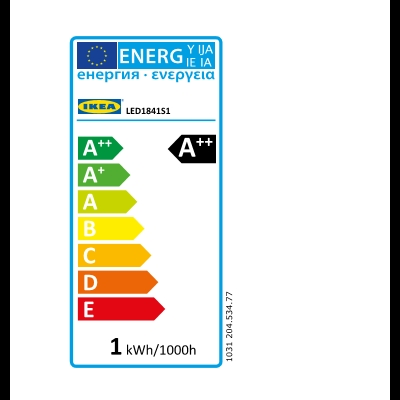 Energy Label Of: 20453477