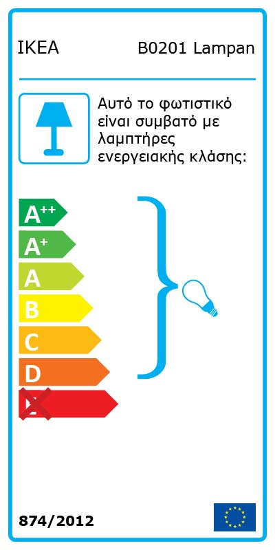 Energy Label Of: 40055420