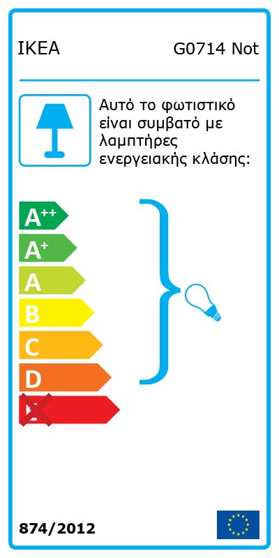 Energy Label Of: 50139877