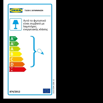 Energy Label Of: 50425812