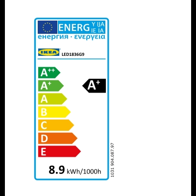 Energy Label Of: 90408797